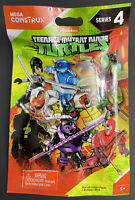 TMNT Series 4 Figure Mega Construx Blind Bag Teenage Mutant Ninja Turtles Gift