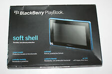 BLACKBERRY PLAYBOOK SOFT SHELL DURABLE, FUNCTIONAL PROTECTION - blue - NEW