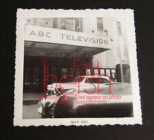 "Vintage 1950's Amateur Photo 3.5""  ABC Televison New York"