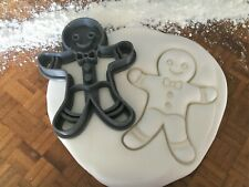Detailed Gingerbread Man Cookie Cutter / Fondant / Icing