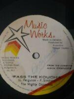 "The Mighty Diamonds-Pass The Kouchie 10"" Vinyl Single ROOTS REGGAE"