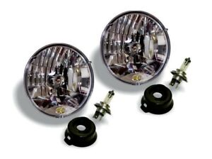 "KC Hilites For 97-06 Jeep TJ 7"" Halogen H4 DOT Headlight Pair Pack System 42301"