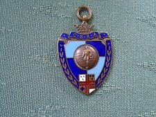 1935 CIVIL SERVICE ATHLETIC ASSOCIATION - ENAMEL MEDAL BADGE - ORG GAMES