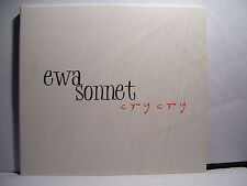 Ewa Sonnet cry cry I Factory Records Poland 2007 M-CD digipack still sealed !!