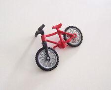 PLAYMOBIL (V137) LOISIRS - Vélo VTT Rouge & Guidon Noir