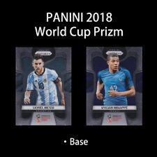 Panini Prizm 2018 World Cup FOOTBALL SOCCER CARD BASE