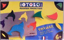 IOTOBO Mosaik Magnet Spiel 100 Teile Reisespiel ab 6 Jahre  Neu OVP