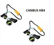 2 RESISTANCE CABLE BOITIER ANTI ERREUR LED HB4 - 55W ET 6 OHM - PLUG AND PLAY
