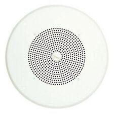 """NEW Bogen ASWG1DK Ceiling Mount w/ 8"""" Amplified Speaker (Detachable Knob)"""