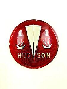 HUDSON Metropolitan Grille Badge Medallion Emblem Grill Original NOS  #741