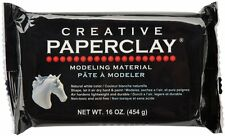 Creative Paperclay for Modeling Compound, 16-Ounce, White, New, Free Shipping