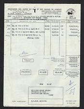MONTPELLIER (34) SEL / Cie des SALINS DU MIDI & des SALINES DE DJIBOUTI en 1959