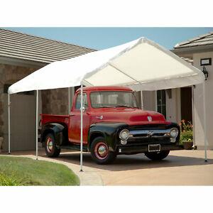 Flyline Portable Carport Garage Shelter Canopy 10ft x 20ft