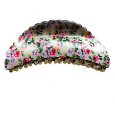 Hair Accessory - Large Flower Hair Jaw Claw Clip (STS03902)