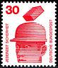 698 A postfrisch BRD Bund Deutschland Briefmarke Jahrgang 1971