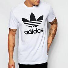 adidas Originals Trefoil Tee T-shirt White Medium Td089 CC 09