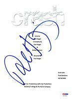 PAUL HAGGIS SIGNED 'CRASH' FULL SCRIPT SCREENPLAY AUTHENTIC AUTOGRAPH PSA DNA