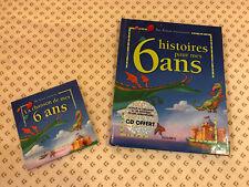 6 histoires pour mes 6 ans (1 livre + 1 CD audio) de Col...   Livre   d'occasion
