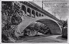 AK Plauen i. Vogtland Friedrich Augustbrücke Brücke Postkarte gel. 1938