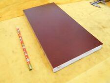 "BROWN PHENOLIC FLAT STOCK machinable micarta sheet bar plate 13/16"" x 6"" x 12"""