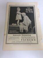 1903 MAGAZINE AD #A3-050 - Packer's Tar Soap