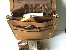Mens Bag Messenger Bag Genuine Real Leather Shoulder Bag