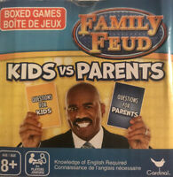 Family Kids & Parents Feud Boxed Card Game! BRAND NEW! FAST Shipping!