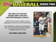 2020 Topps Series 2 Baseball #351-635 - Complete Your Set  **FREE SHIPPING**