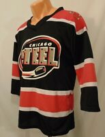 Chicago Steel USAL Hockey Youth Size XL Minor League Jersey Polyester Match Up