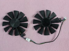 87mm ASUS GTX 1060 1070 RX 470 570 580 Dual Fan Replacement 4Pin T129215BU R229