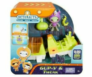 Octonauts Gup-V and Tweak Glow In The Dark Playset