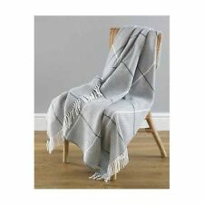 Country Club Modena Grey Acrylic Throw 130cm x 170cm Sofa Chair Bed Cover NEW