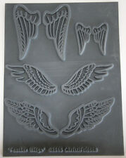 Angel Wings and angel wings texture stamps by Christi Friesen newest stamps