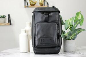 Coach (2943) Men's Leather and Nylon Black Ranger Pack Crossbody Bag