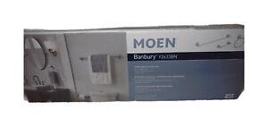 MOEN Banbury 3-Piece Bath Hardware Set Brushed Nickel