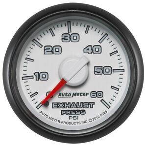 Auto Meter 8525 Gen 3 Factory Match Exhaust Press Gauge/0-60PSI For Dodge NEW