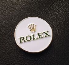 NEW OLD STOCK VINTAGE SMALL ROLEX BADGE PIN SNAP GOLF TENNIS MASTERS RACING