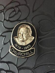 Winston Churchill WW2 War Prime Minister 1965 Darkest Hour Cinema Pin Badge