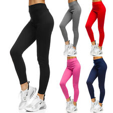 Leggings Sporthose Trainingshose Unifarben Fitness Leggins Damen BOLF Slim Fit