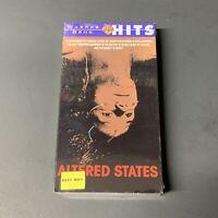 ALTERED STATES New Sealed VHS tape 1999 Rare Sci-Fi Fantasy William Hurt FS