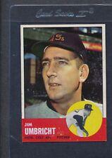 1963 Topps #099 Jim Umbricht Colts NM *2655