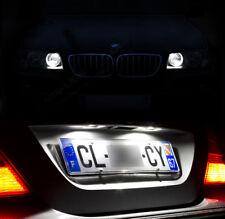 4 lampadine a LED Luci posizione + Luci di targa Bianco per BMW E39 serie 5