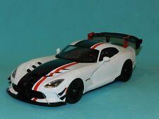 Dodge Viper ACR Year 2016 White/black 1 18 Gt-spirit