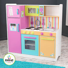 Deluxe Big & Bright Kitchen by Kidkraft -- Pretend play - wood