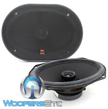"MOREL 69C MAXIMO 6x9"" COAXIAL 2 WAY SOFT DOME TWEETERS PRO CAR SPEAKERS NEW"