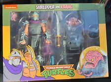 NECA Teenage Mutant Ninja Turtles Shredder and Krang 2 Pack