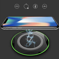 10W Ultra strong Fast Qi Wireless Charger Pad for iPhone X XR Samsung Phone V le