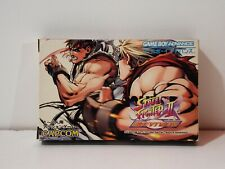 Super Street Fighter II 2 X Revival Game Boy Advance GBA Nintendo Jap