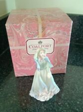 Coalport Bonnie Lass Porcelain Figurine 5 inches Tall boxed