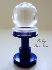 NEW Lego TRANSLUCENT CRYSTAL BALL Dark Purple Support HARRY POTTER Trelawney